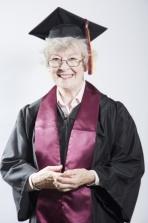 adult graduate woman